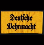 Deutsche Wehrmacht  embroidered armband or brassard