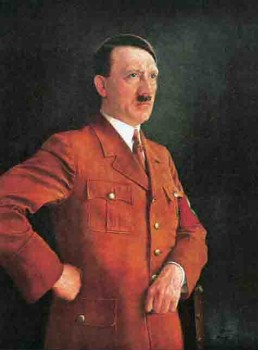 Adolf Hitler Oil Painting By Heinrich Knirr