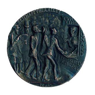 Goetz medallion commemorating the sinking of the Lusitania