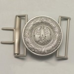 Army Officers belt buckle. Eagle design type