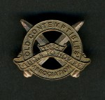 BRITISH WW1 'OLD CONTEMPTIBLES BRONZE LAPEL PIN
