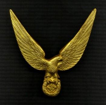 German Third Reich Eagle Radiator Grill emblem.