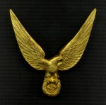 German Third Reich Eagle Radiator Grill emblem.
