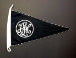 S.S. Leibstandarte Adolf Hitler vehicle pennant.