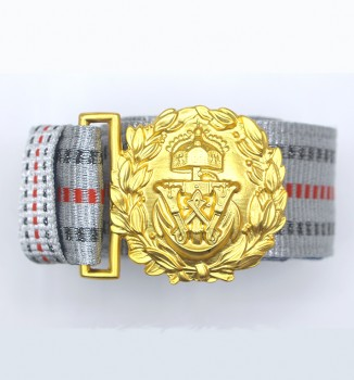 Imperial German Navy (Kaiserliche Marine) Officers dress brocade belt with buckle.