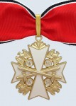 German Eagle Order 1st Class Neck Cross with Swords.