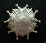 French Legion of Honour- 3rd Republic Grand Cross or Grand Officer breast star in Silver.