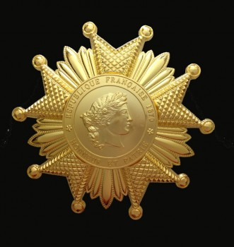 French Legion of Honour- 3rd Republic Grand Cross breast star in Gold.