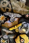 Cloth Cap and Tunic Insignia