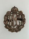 Royal Flying Corps Officer's issue metal cap badge