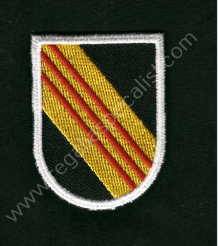 5th Special Forces beret flash- 1964-1985