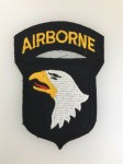 U.S. WW2 101st Airborne Division patch (on felt)