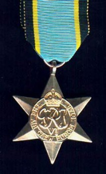 British Air Crew Europe Star