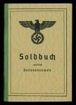 Wehrmacht 'Soldbuch' (Pay Book)