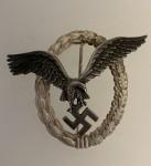 Luftwaffe Pilots Badge- Early Juncker type. ORIGINAL QUALITY.