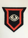 British 1st Guards Armoured Division cloth sleeve patch
