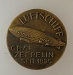 Graf Zeppelin Airship  Commemorative Workers  Badge.