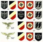 Military Helmet decals