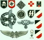 Political and Para military Helmet decals