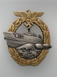 Kriegsmarine E Boat badge 2nd pattern