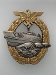 Kriegsmarine E Boat badge 2nd pattern