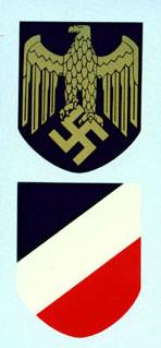 Kriegsmarine  Helmet Decals