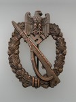 Army Infantry Assault Badge in Bronze.