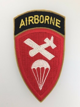 U.S. WW2 Airborne Command cloth sleeve patch