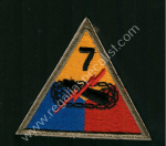 US Cloth Sleeve Patches WWII