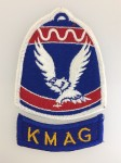 U.S. Military Command Korea cloth patch complete with cloth tab