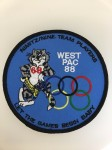 U.S. Navy 'Westpac 88'  commemorative patch
