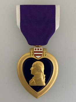 United States  Purple Heart decoration- Full sized
