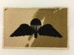 British Army Paratroopers cloth Wings. Desert camoflage issue