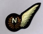 R.A.F. Navigator 'N' cloth half wing