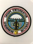 French G.I.G.N.  Anti-Terrorist force cloth patch