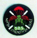 Special Boat Squadron cloth beret badge