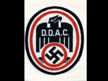 D.D.A.C. (German Driving Union) silk woven sports vest emblem
