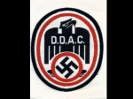 D.D.A.C. (German Driving Union) silk woven sports vest emblem