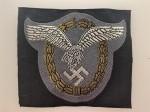 Luftwaffe Pilot Observer's wire silk woven cloth badge