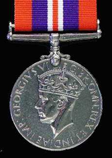 British WW2 War medal