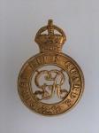 1st Life Guards metal cap badge