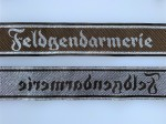 Cuff Titles- Army and Luftwaffe