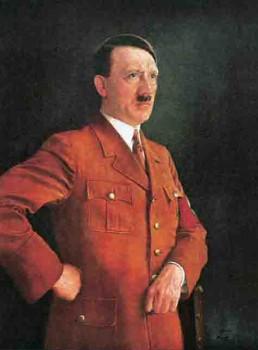 Adolf Hitler oil painting by Heinrich Knirr