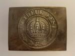WWI Bavarian enlisted mans belt buckle