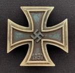 1939 Iron Cross 1st Class SCHINKEL TYPE. ORIGINAL QUALITY.