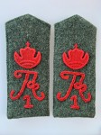 Imperial German mans Shoulder Boards with cypher