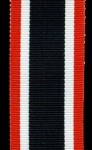 War Merit Cross  ribbon 32mm wide