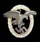 Luftwaffe Observers Badge. SUPERIOR QUALITY