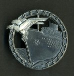 Kriegsmarine Blockade Breaker Badge - Meybauer type. ORIGINAL QUALITY.