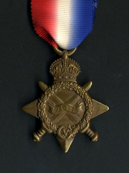 British 1914-1915 Star medal